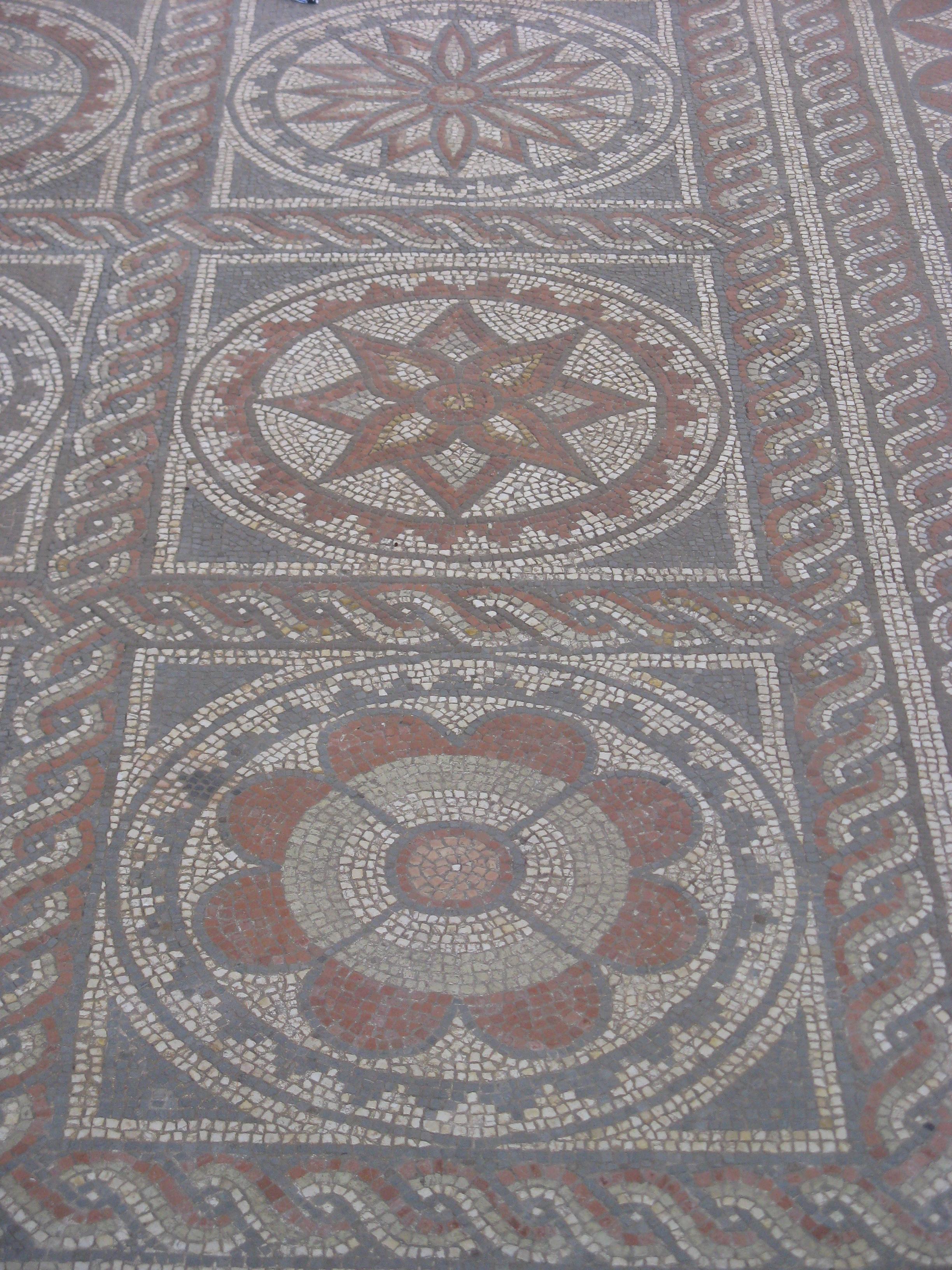 Roman Mosaics Archaeology St Albans Herts Memories