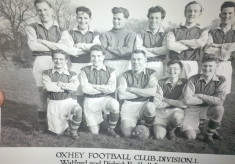 Oxhey Football Club 1955
