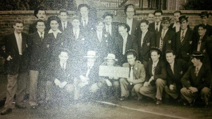 Oxhey Football Club 1955