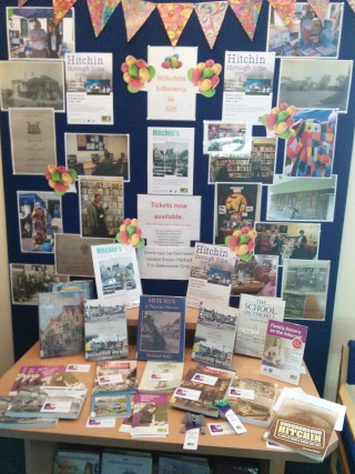 Hitchin Through Time Display May 2015