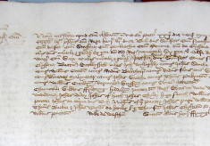 Register of wills proved at the court of the Archdeacon of St Albans, and the Battle of St Albans, May 1455