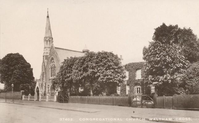 The church around 1930