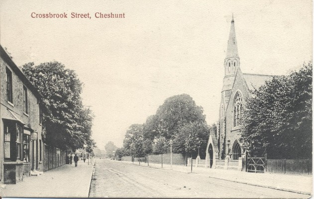 Crossbrook street, looking north.