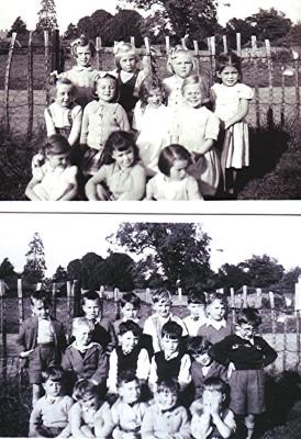 Infants School 1955   Geoff Webb