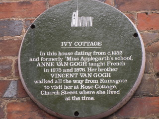 Ivy Cottage plaque | By Hannah
