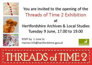 Threads of Time 2 Exhibition
