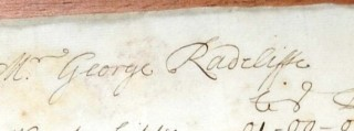 Mr George Radcliffe