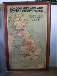 London Midland & Scottish Railway - poster map, c1930 | mikeyashworth - Creative Commons https://www.flickr.com/photos/36844288@N00/4551028407/