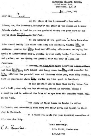 3. Wartime in Hertford
