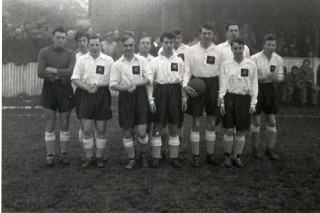 Pegasus Football Club, c1954 | Owen Welch