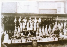 Butchers Shop, Berkhamsted 1925