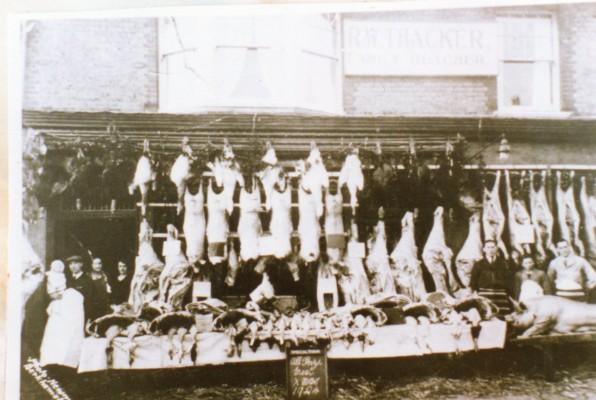 Butchers Shop, Berkhamsted 1925