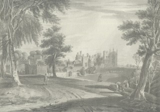 Published in the History and Description of Cassiobury Park by John Britton, 1837
