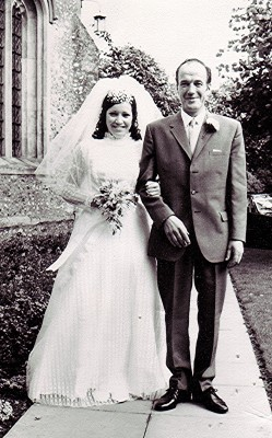 Jack Bradbury with his daughter Carol | Geoff Webb