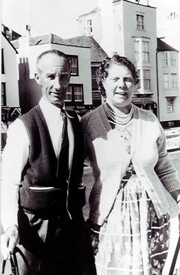 Jack and Grace Halsey-1960.   Geoff Webb