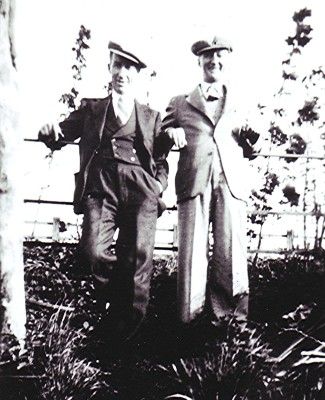 Jack & Len Halsey   Geoff Webb
