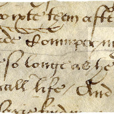 John Gardiner's will, 1550 | Hertfordshire Archives and Local Studies, Ref: AH 1778