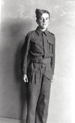 John Tingey c. 1942 | Geoff Webb