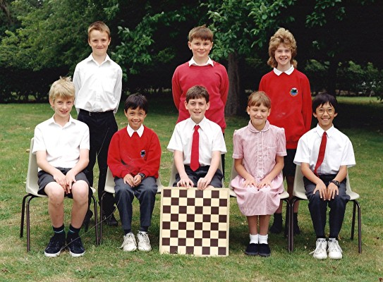 Junior School Chess Players | Geoff Webb