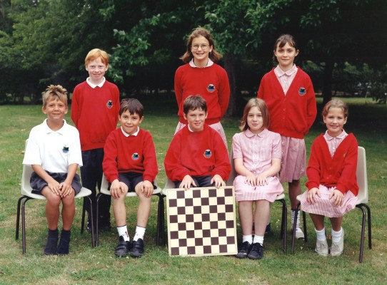 Junior School Chess Players | Geoff Webb