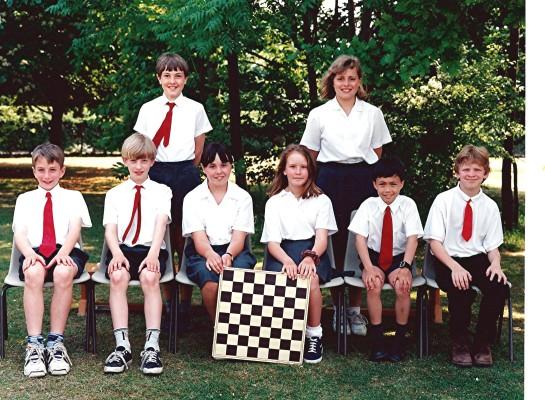 Junior School Chess Team | Geoff Webb