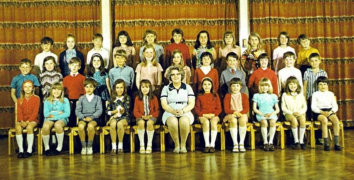Junior School Class 1972 | Geoff Webb