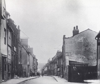 Kibes Lane from New Road in 1936