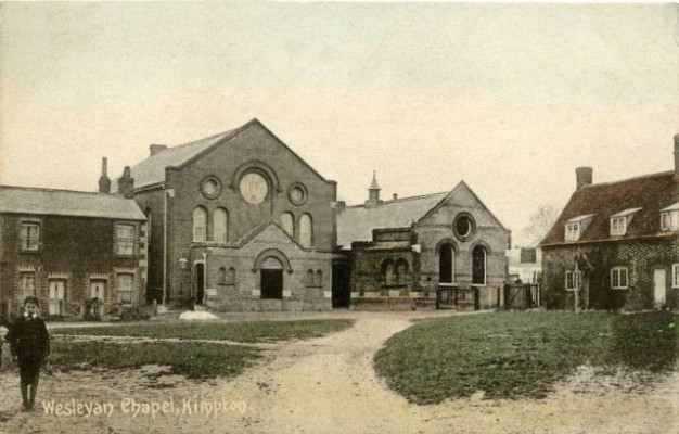 The Wesleyan Chapel published by G. Matthews, Post Office, Kimpton
