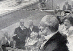 The offical opening of the 1908 Olympic Games