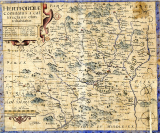 Hertfordshire 1610 | Hertfordshire Archives and Local Studies
