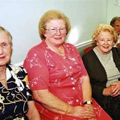 Left to right: Gwen Knight, Doreen French, Betty Hall, Muriel Draper | Geoff Webb