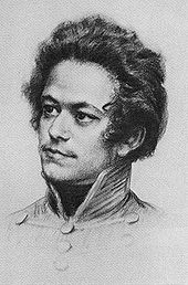 A contemporary imagining of Karl Marx as a young man