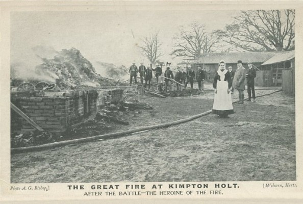 The Great Fire at Kimpton Holt - the