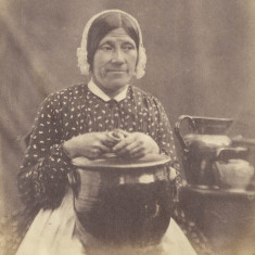 A servant of the Claridges, (who lived in Berkhamsted) c. 1855 | Hertfordshire Archives and Local Studies, Ref: D/EBi 54