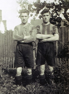 Tommy and Harry Large   Geoff Webb