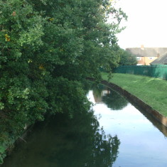 Looking upstream from the St Laurence Drive Bridge | Nicholas Blatchley