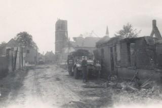 Evacuated village