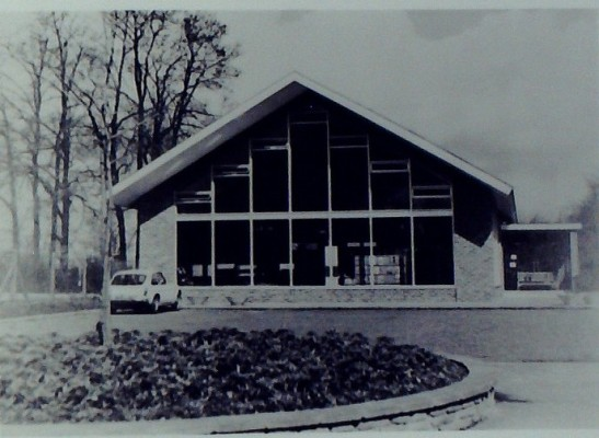 The Library in 1971 | Iain Bickerton
