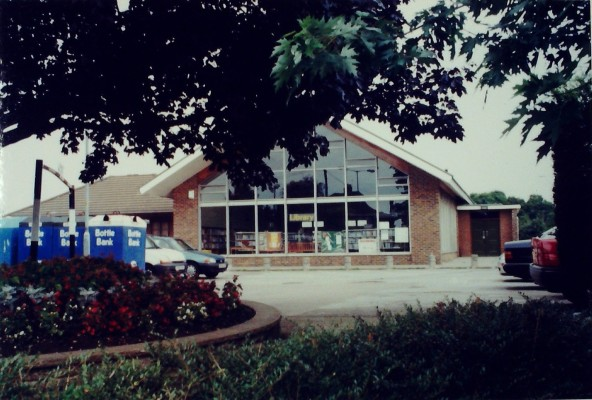 The Library, 2000. To the left is the Doctor's Surgery | Iain Bickerton