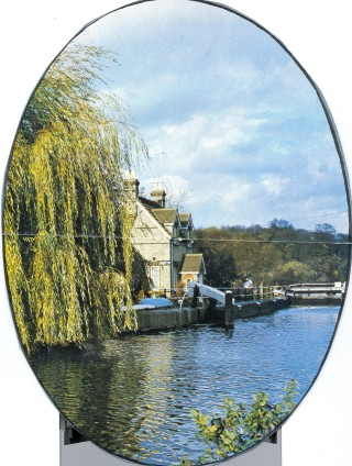 Lock Gates on the River Lea at Hertford | Roger Lee