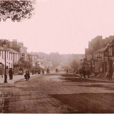 London Road, about 1900