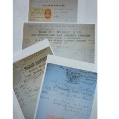 Bills from London suppliers to the Jubilee celebrations | H.A.L.S.