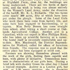 The Land Girl Magazine, June 1940