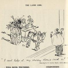 The Land Girl Magazine, 1943