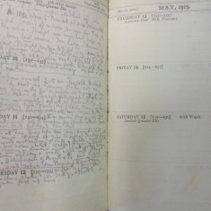 The final entry in Julian Grenfell's diary