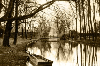 The River at Hertford Castle | Hertfordshire Archives and Local Studies