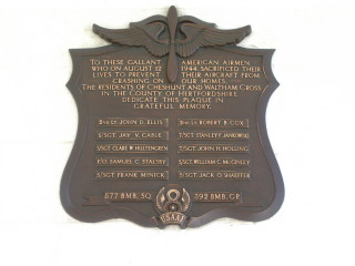 Liberator bomber memorial | From the B-24 website - see link in text