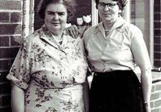 Florence Luck & Doris Hewitt