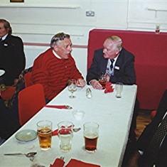 Left to right: Brian Males (rear), Eric Neville, Aubrey Robinson (rear), Darley Webb, George Allen and Horace Brett | Geoff Webb