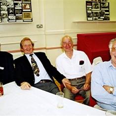 Left to right: Doug & Aubrey Robinson, Brian Males, Bill Price | Geoff Webb